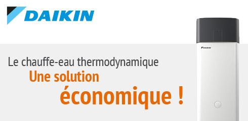 Le chauffe-eau thermodynamique, une solution économique !