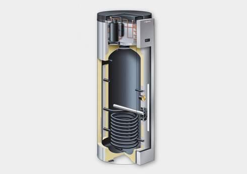 Thermodynamic water heater Var